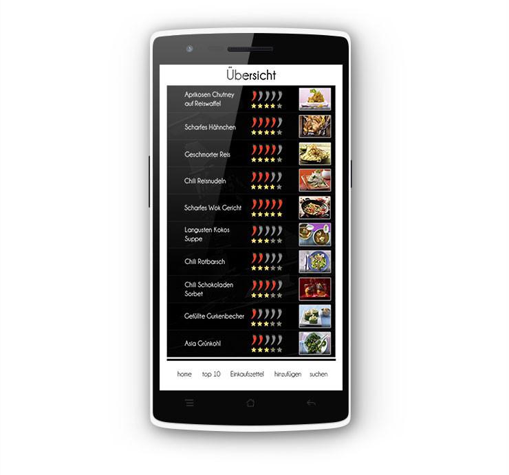 Android Kochapp